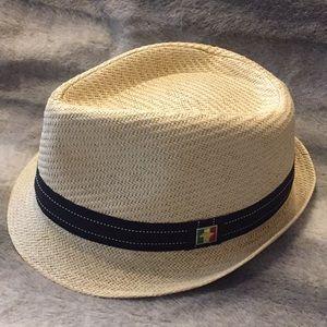 Peter Grimm Woven Fedora Unisex Hat